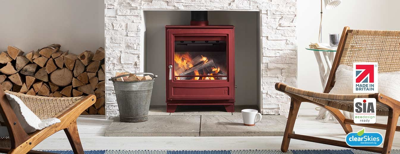 Arada Ecoburn series 3 stoves.