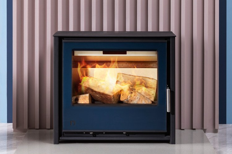 Multi-­Coloured Wood Burning Stoves