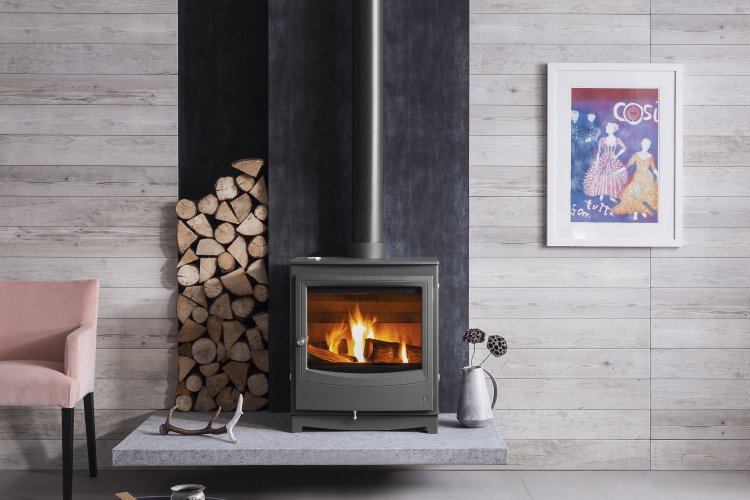 Combustibles distance - How much space to leave around a wood burner?