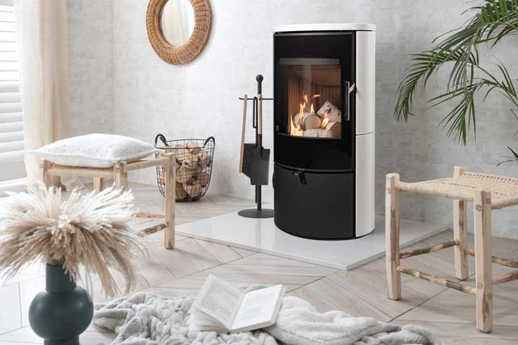 Create a focal point with Lagom wood burning stove