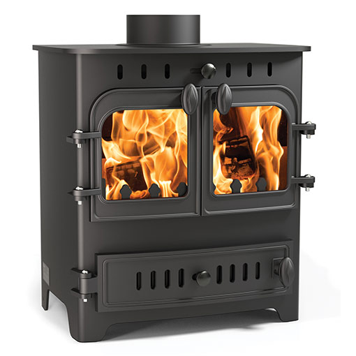 Arada Chelsea Duo Multifuel and Wood burning stove