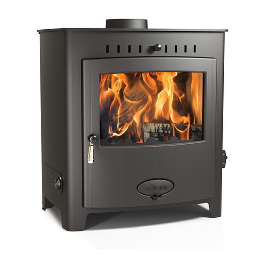Arada Ecoboiler 25 HE Multifuel and Wood burning boiler stove