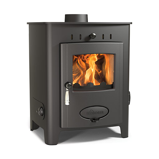 Arada Ecoboiler 9 HE Multifuel and Wood burning boiler stove