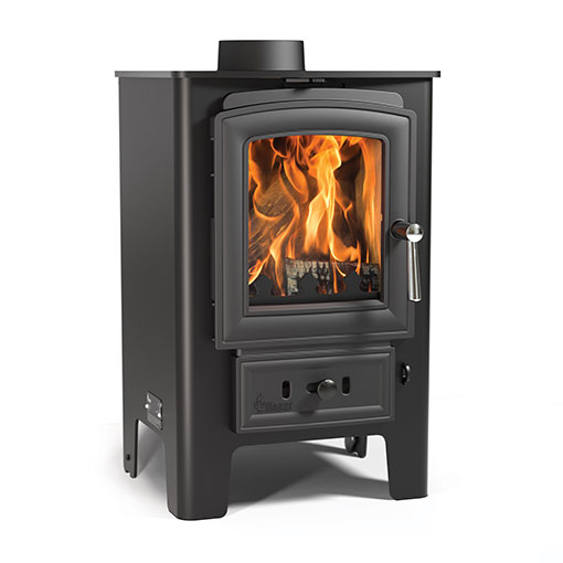 Arada Heron 5 Multifuel and Wood burning stove