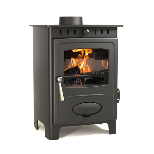 Hamlet Solution 5 Multifuel and Wood burning stove