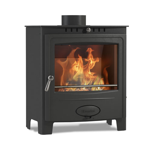 Hamlet Solution 5 Widescreen Multifuel and Wood burning stove