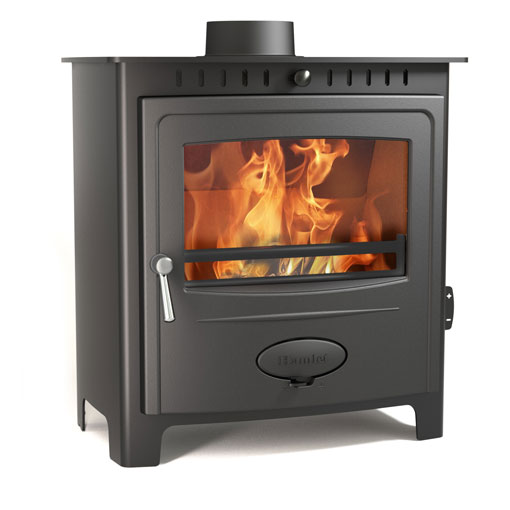 Hamlet Solution 9 Multifuel and Wood burning stove